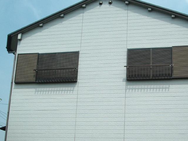 サイディングボード壁