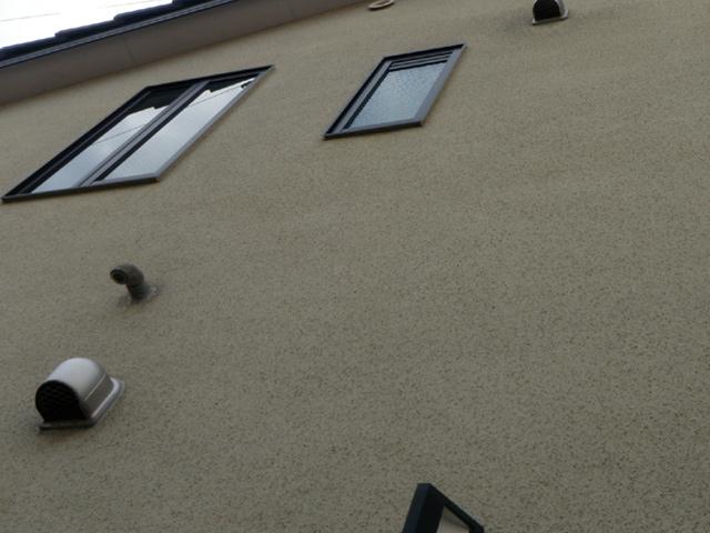 外壁の遮熱塗装