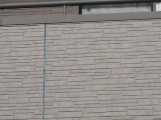 サイディング壁のジョイント1