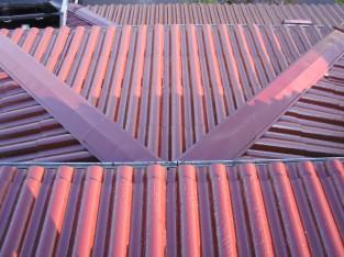 屋根の遮熱塗装2