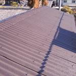 屋根 塗装完成