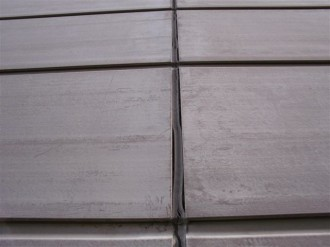 外壁サイディング垂直目地現状