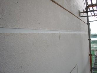 鉄筋コンクリート水平目地補修済