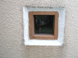 採光窓まわり補修済