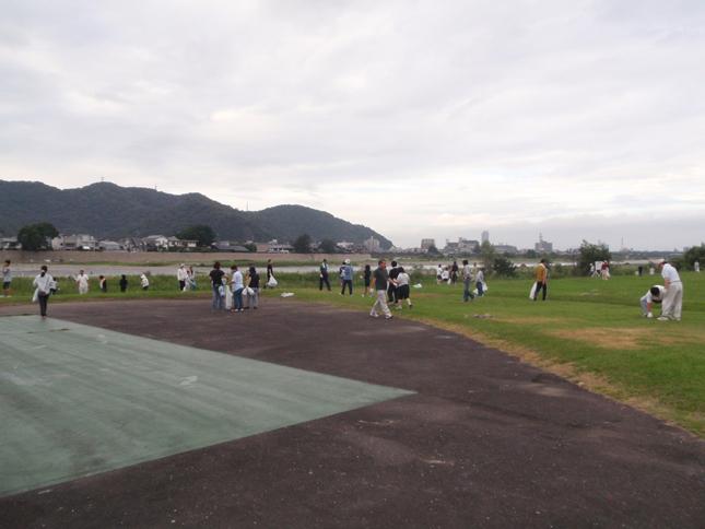 長良川清掃活動