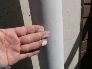 樋 塗装の劣化