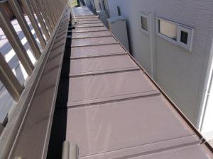 鉄板屋根②