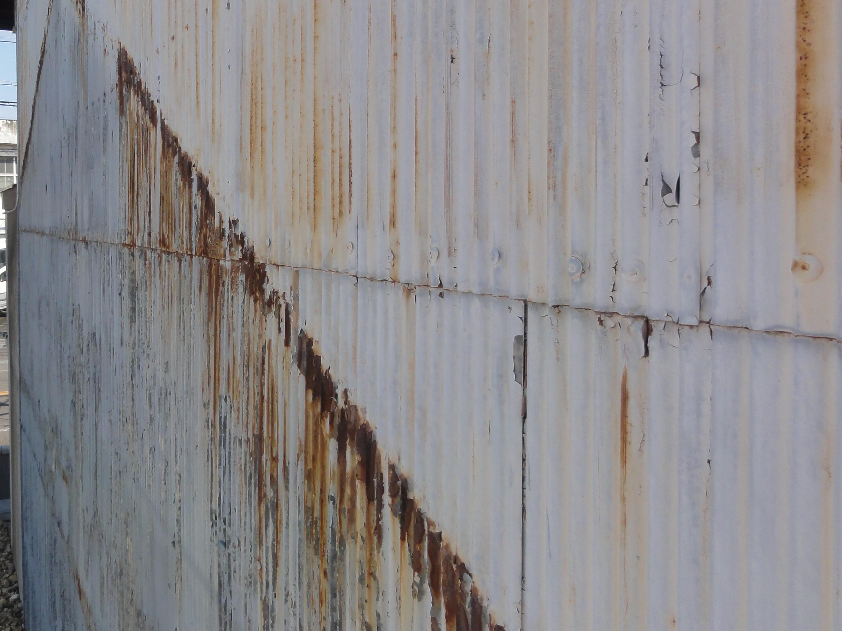 外壁 調査時写真