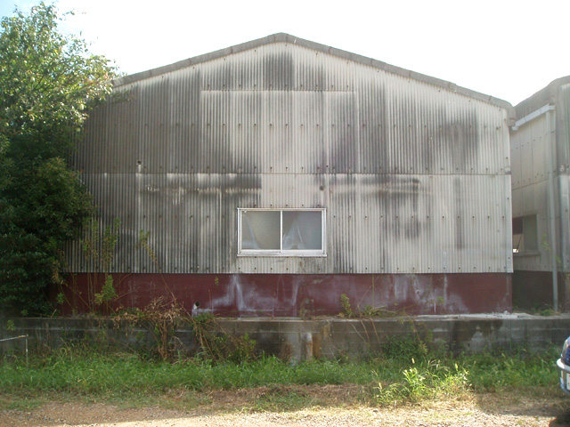 倉庫外壁スレート