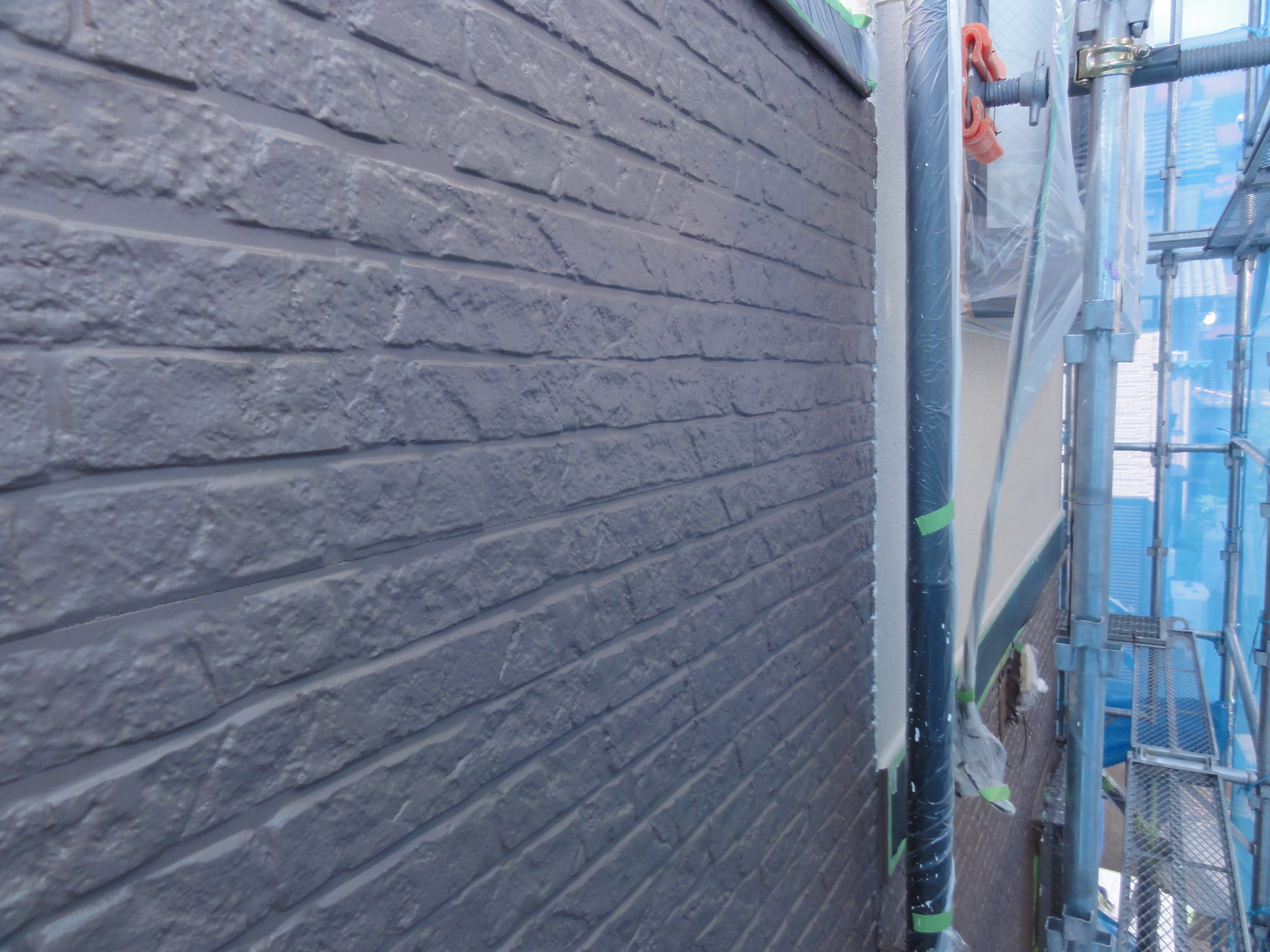 外壁仕上げ2回目完了